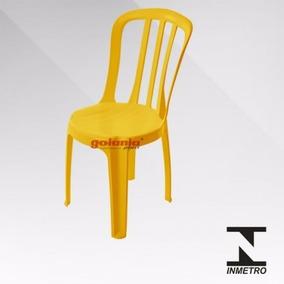 8 Cadeiras Bistrô De Plastico Empilhavel Coloridas