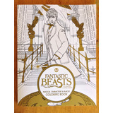 Harry Potter Fantastic Beasts Libro Para Colorear Oficial