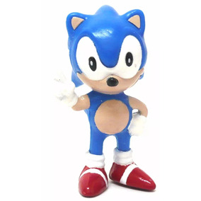 Boneco Sonic Colecão Miniatura Tectoy Brinquedos Antigos