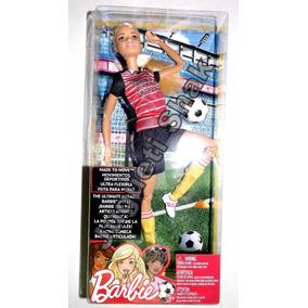 Barbie Made To Move, Futbolista, Ultra Flexible, Barbie