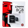 Memoria Micro Sd 8 Gb Clase 10 Kingston Por Mayor Y Menor