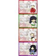 Etiquetas De Colegio De Anime De Inuyasha Kagome Sesshoumaru