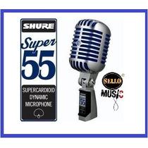 Micrófono Condensador Profesional Shure Super 55 Nuevoº
