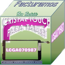 Cristal Touch Digitalizador Para Tablet Negro Lcga070987
