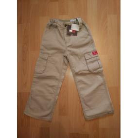 Pantalon Ralph Lauren P/niño T- 6a Pana Café Ycargo Beige 5a