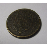 Moneda Antigua 1947 España Una Peseta Francisco Franco