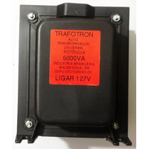 Auto Transformador Voltagem 5000va Bivolt Protetor Termico
