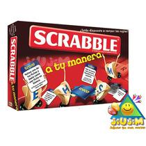 Scrabble A Tu Manera, ¡el Ultimo Modelo! Orig. Mattel Jiujim