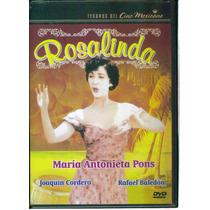 Rosalinda. Maria Antonieta Pons Y Joaquin Cordero. En Dvd