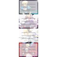 Etiquetas De Colegio De Anime De Fate/stay Night Saber Lily