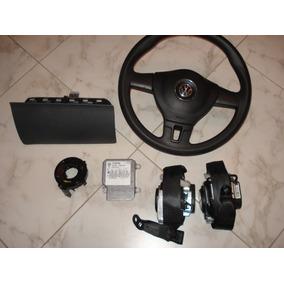 Kit De Airbag Air Bag Do Painel E Volante Sa Saveiro 2012 20