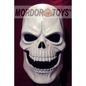 Calavera Máscara De Látex Craneo Esqueleto Halloween