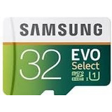 Samsung Micro Sd Evo Select 32 Gb 80 Mb/seg Video 4k Adap Sd