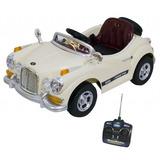 Mini Veículo Rolls Royce Infantil Ipod Mp3 Som Luz Bel 9147
