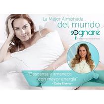 6 Almohadas Sognare Estándar Original Con Envío Gratis.