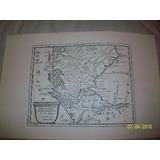 Mapa Sur De La Patagonia Y Tierra Del Fuego. Reprodución