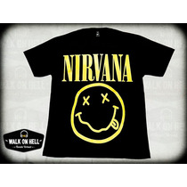 Nirvana Remeras. Brilla Oscuridad !!! Kurt Cobain