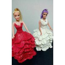 Bonecas Para Decoração, Vestidos Em Eva