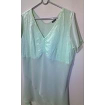 Blusa De Vestir Plus