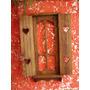 Moldura P/ Espelho Janela Decorativa Madeira Demolição