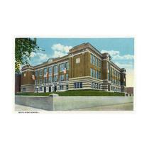 Lancaster, Pennsylvania, The Boys High School Print, 24 X3