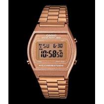 Reloj Casio B640 Rosado Estuche Vintage Edición Especial