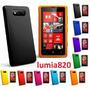 Capa De Silicone P/ Nokia Lumia 820 Frete Fixo Todo Brasil