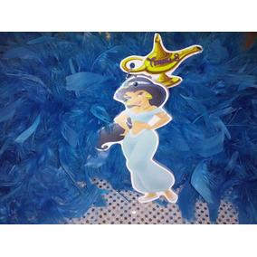 Invitacion Con Cadenita Princesa Jazmin