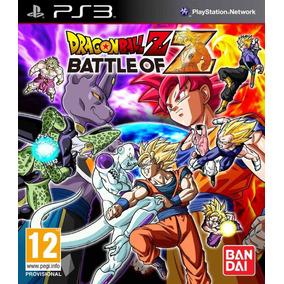 Jogo Lacrado Dragon Ball Z: Battle Of Z Para Playstation 3