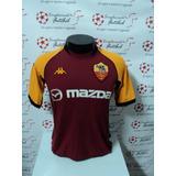 2484008384 Camisa Italia Home 02 03 Totti 10 Patch Copa 2002 Importada ...
