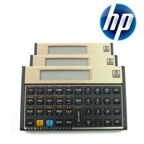 Calculadora Financeira Hp 12c Gold Português Promoção+ Nf