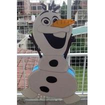 Piñata Infantil En Goma Eva Frozen, Olaf