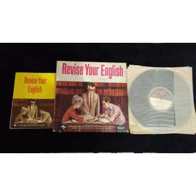 Livro E Vinil Curso De Inglês Antigo Revise Your.