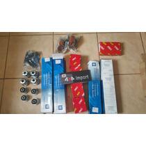 Kit S10 4 Amort 8 Bucha 2 Bil 2 Bat 4 Pivo 1 Braco