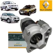 Motor De Partida - Logan/sandero/duster 1.6 16v (233001105r)