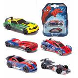 Educando Auto Spiderman X7 Modelo Colección Majorette Metal