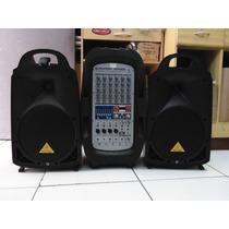 Kit Epa900 Europort Behringer 8canais 11964 Uni Music