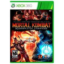 Mortal Kombat Komplete Edition Xbox 360 Legendado + Brinde