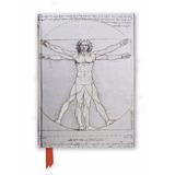 Regalos Fin De Año Cuaderno. El Hombre De Vitruvio Da Vinci