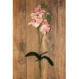 Flores Artificiais Orquídea Baby Rosa Com Branco