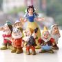 8 Bonecos Princesa Branca De Neve E O Sete Anões Festa Bolo