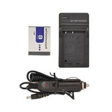Nuevo Batería + Cargador Para Sony Cybershot Dsc-t2 Dsc-t200