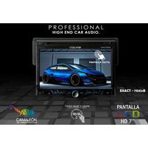 Steelpro Autostereo 1 Din De 7 Hd, Bluetooth, Dvd, Cd, Mp3.