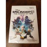 Juego Wii Epic Mickey 2 Nuevo Cerrado Oferta Limitada