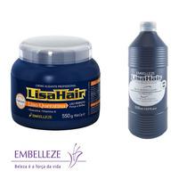 Kit Lisa Hair Embelleze Creme Alisante E Neutralizante