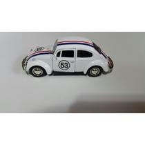 Vw Fusca Herbie Escala 1.38 Custom.11cm.rmz City Vw 1300.new