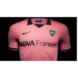 Camiseta Nike De Boca Juniors Rosa Suplente