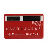 Mini Calculadora Solar Tarjeta De Credito