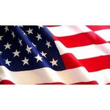 Bandeira Americana Estados Unidos Eua Usa - 1,50x90cm!