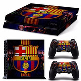 Ps4 Vinyl Skin Estampas Para Playstation 4 Barcelona